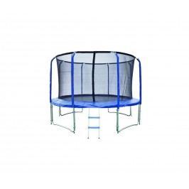 Trampolína 396 cm + ochranná síť + žebřík