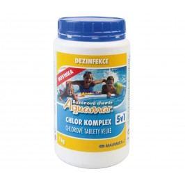 Chemie do bazénu - Aquamar Komplex 5v1 1,0 kg