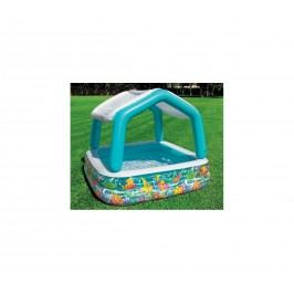 Dětský nafukovací bazének se stříškou na zahradu