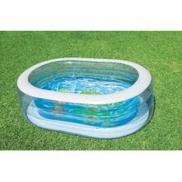 Oválný bazének pro děti na zahradu