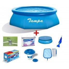Bazén Tampa 3,05x0,76 m. - kompletní rodinný set 19900029