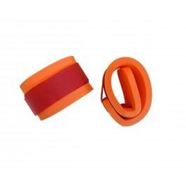 Rukávky nadlehčovací na suchý zip - pár - oranžová 116302033