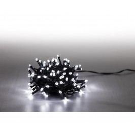 Řetěz světelný 100 LED - studená bílá - zelená 18000059