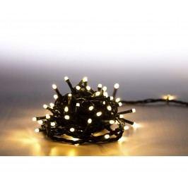 Řetěz světelný 100 LED - teplá bílá - zelená - mód 18000061