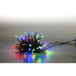 Řetěz světelný 100 LED - barevná - transparent - mód 18000069