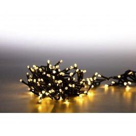 Řetěz světelný 400 LED dvojitý - teplá bílá 18000081