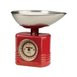 Kuchyňská váha Vintage Kitchen Red