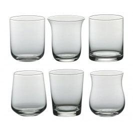 Sada 6 sklenic Clear Shapes 250 ml