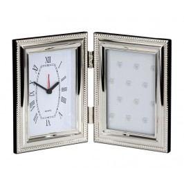 Fotorámeček s hodinami Silvery