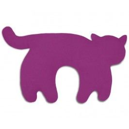 Polštářek za krk Feline Purple 25x46 cm