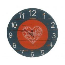 Nástěnné hodiny Heart