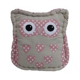 Polštář na sezení Owl 36x36 cm