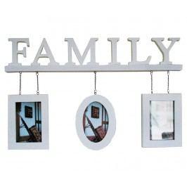 Rám na 3 fotografie Family