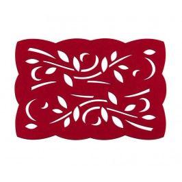 Sada 2 prostírání Red Leaf 30x45 cm