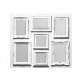 Rám na 7 fotografií Avaro White Fotorámečky