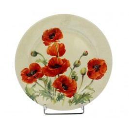 Dezertní talíř Beautiful Poppies