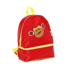 Školní batoh Monkey Red Školní potřeby