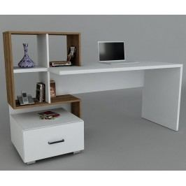 Pracovní stůl Teacher White Walnut