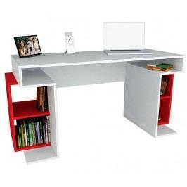 Pracovní stůl Dustin White Red