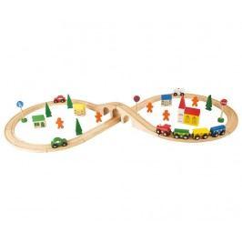 Autodráha na hraní, 51 dílů Railway