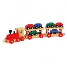 Vlak s 6 autíčky Motorail Train