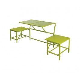 Venkovní konvertibilní lavice Bistro Green