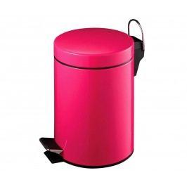 Odpadkový koš s víkem a pedálem Simple Pink 3 L