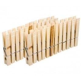 Sada 23 kolíčků na prádlo Line Wood