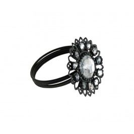 Prsten na ubrousky Flower Gem