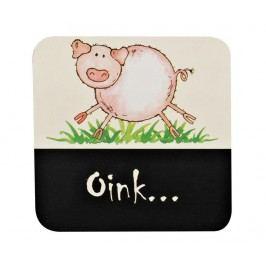 Sada 4 podtácků Home Farm Pig