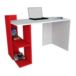 Pracovní stůl Apollo White Red