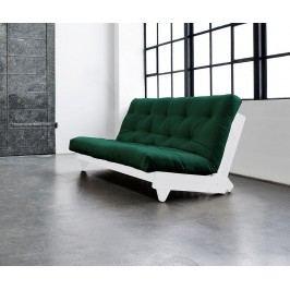 Rozkládací pohovka Fresh White & Botella 140x200 cm