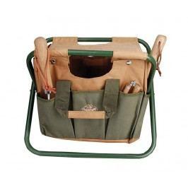 Skládací židlička s držákem na nářadí Country