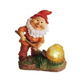 Solární lampa Gnome with Rock