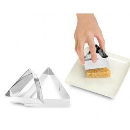 Sada 3 forem na tvarování pokrmů Triangular