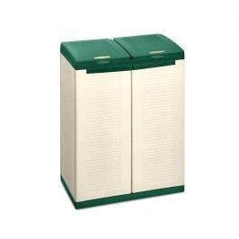 Skříňka na třídění odpadu Sabbia Green