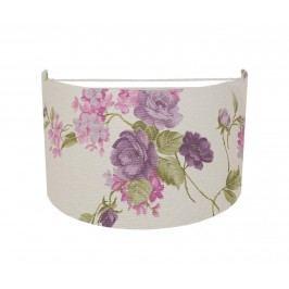 Nástěnné svítidlo Mauve Flowers