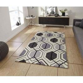 Koberec Hong Kong Mixlines Grey 120x170 cm