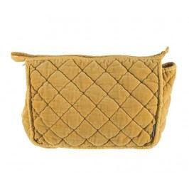 Kosmetická taška Smooth Mustard M Dámské kabelky, batohy a peněženky