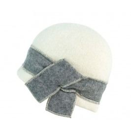 Dámská čepice Daku Cream and Grey 57-59 cm