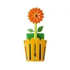 Kuchyňská sada, 3 díly Flower Power Fence Orange