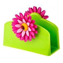 Podstavec na ubrousky Flower Power Green