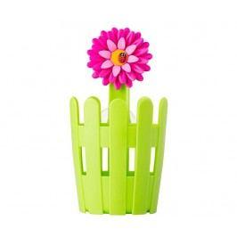 Stojan na kuchyňské náčiní Flower Power Green