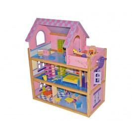 Domeček pro panenky s příslušenstvím Pink Dreams