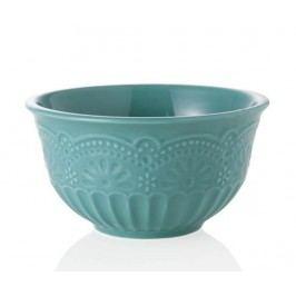 Mísa Exquisite Lace Turquoise 1 L