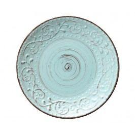 Mělký talíř Serendipity Turquoise