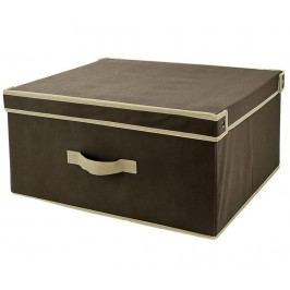 Úložná krabice s víkem Brown L