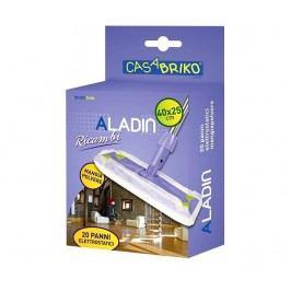 Sada 20 elektrostatických utěrek na mop Aladin Dust 25x40 cm