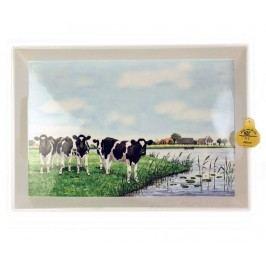 Servírovací podnos The Cows by the River
