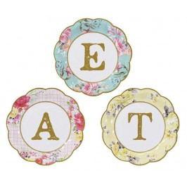 Sada 12 jednorázových talířů Eat